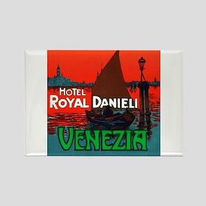 Hotel Royal Danieli (Venice) Rectangle Magnet