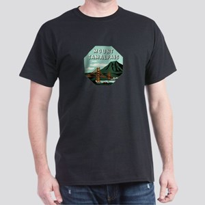 Mr. Tam Mount Tamalpais Dark T-Shirt