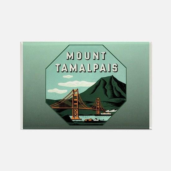 Mr. Tam Mount Tamalpais Rectangle Magnet