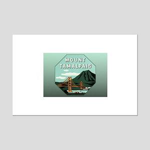 Mr. Tam Mount Tamalpais Mini Poster Print