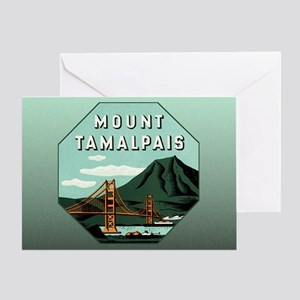 Mr. Tam Mount Tamalpais Greeting Card