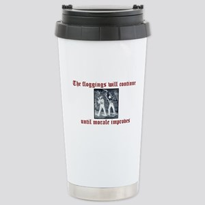 Flogging Stainless Steel Travel Mug