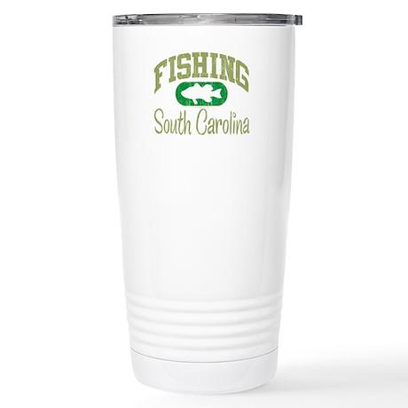 FISHING SOUTH CAROLINA Stainless Steel Travel Mug
