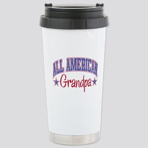 ALL AMERICAN GRANDPA Stainless Steel Travel Mug