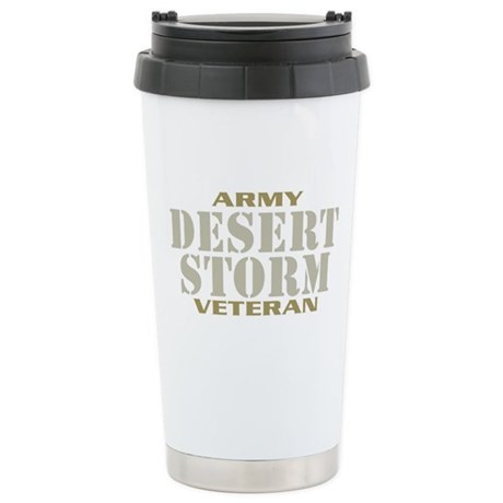DESERT STORM ARMY VETERAN! Stainless Steel Travel