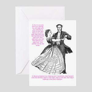 Viennese Waltz Greeting Card