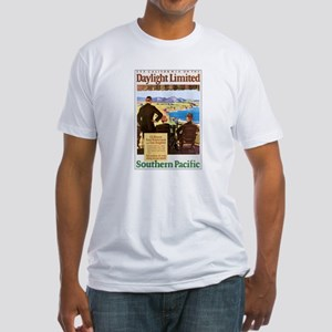 Southern Pacific CA Fitted T-Shirt