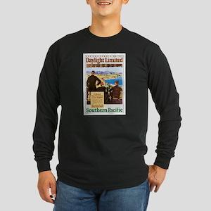 Southern Pacific CA Long Sleeve Dark T-Shirt