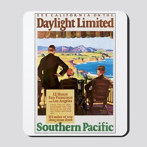 Southern Pacific CA Mousepad