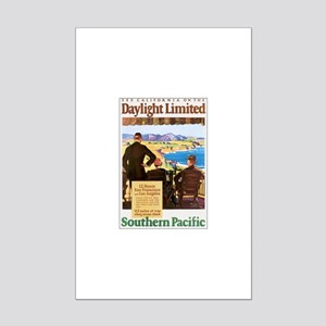 Southern Pacific CA Mini Poster Print