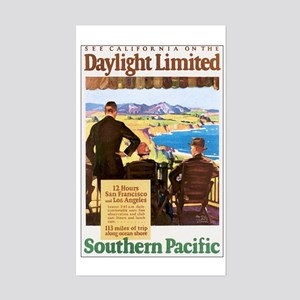 Southern Pacific CA Rectangle Sticker