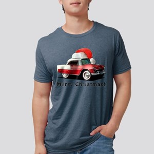BabyAmericanMuscleCar_55BAXmas_red T-Shirt