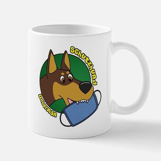 Doberman Schutzhund Mug