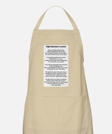 Flight Attendant's Lament BBQ Apron