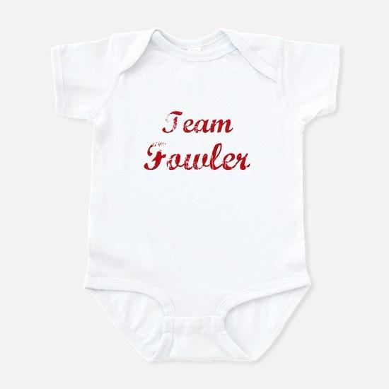 team Fowler reunion Infant Bodysuit