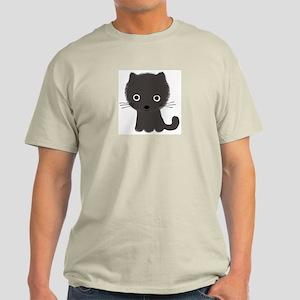 Grey Kitty Light T-Shirt