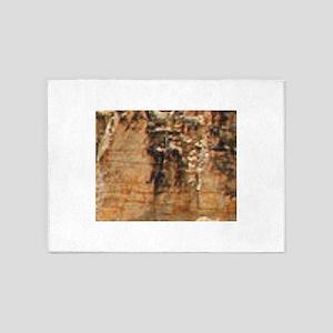 sulfur rocks of yellowstone 5'x7'Area Rug