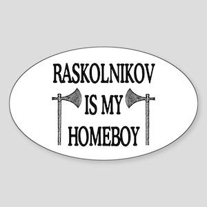 RHB Oval Sticker