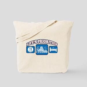 Life's Priorities Farming Tote Bag