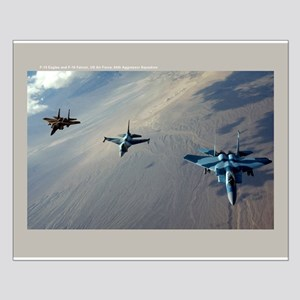 Aggressors Small Poster