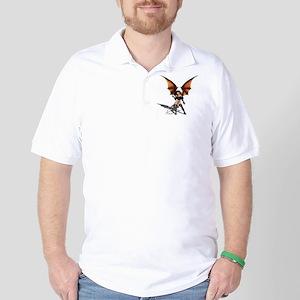 Sexy Female Vampire Golf Shirt