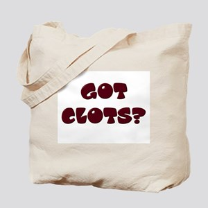 """Got Clots?"" Tote Bag"