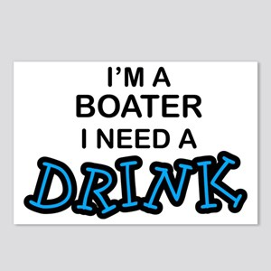 Boater Need a Drink Postcards (Package of 8)