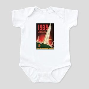 San Francisco World's Fair Infant Bodysuit