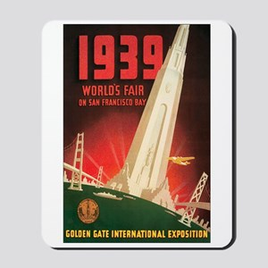 San Francisco World's Fair Mousepad
