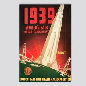 San Francisco World's Fair Postcards (Package of 8