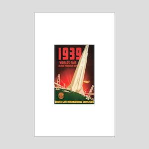 San Francisco World's Fair Mini Poster Print