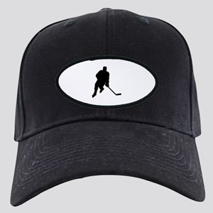 Hockey Player Black Cap