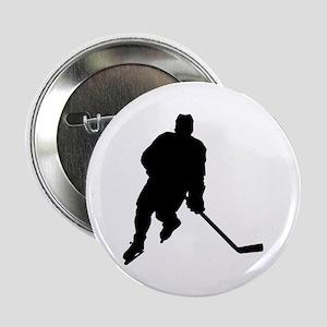 Hockey Player Button
