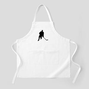 Hockey Player BBQ Apron