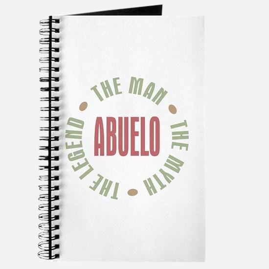 Abuelo Man Myth Legend Journal