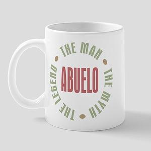 Abuelo Man Myth Legend Mug