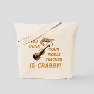 Crabby Fiddle Teacher Tote Bag