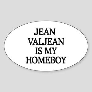 JVHB Oval Sticker