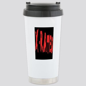 X-RATED Stainless Steel 2 Travel Mug