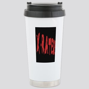 X-RATED 1 Stainless Steel Travel Mug