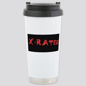 X-RATED Stainless Steel Travel Mug