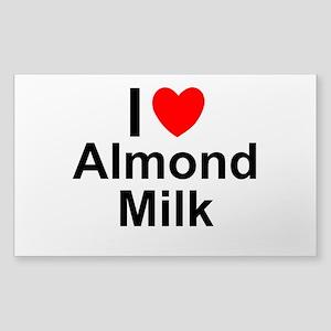 Almond Milk Sticker (Rectangle)