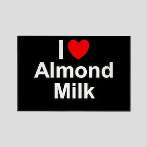 Almond Milk Rectangle Magnet