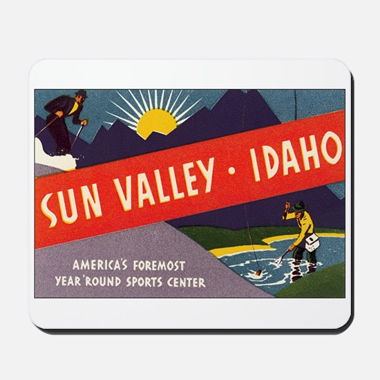 Sun Valley Idaho Mousepad