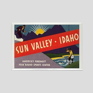 Sun Valley Idaho Rectangle Magnet