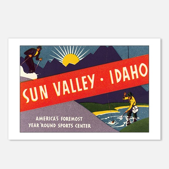 Sun Valley Idaho Postcards (Package of 8)