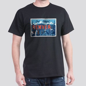 Denver Colorado Dark T-Shirt