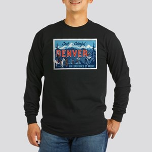Denver Colorado Long Sleeve Dark T-Shirt