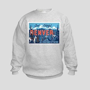 Denver Colorado Kids Sweatshirt