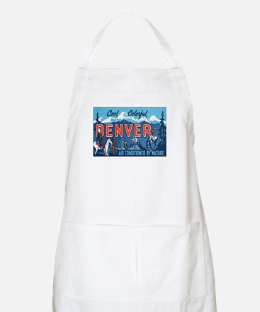 Denver Colorado BBQ Apron
